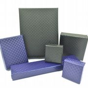 Diamond padded jewellery boxes